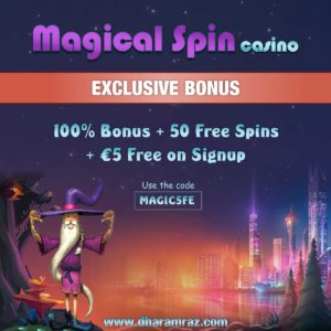 Avis sur casino Magical spin : Ce que le site réserve